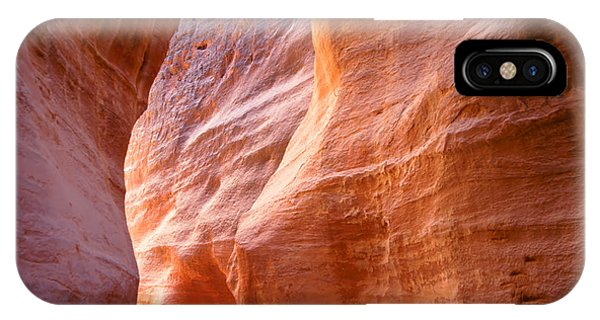 Rock Formation iPhone Case - The Siq, The Narrow Slot-canyon That by Robert Paul Van Beets
