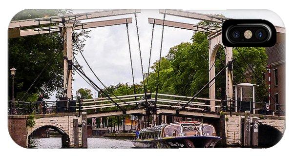 The Skinny Bridge Amsterdam IPhone Case