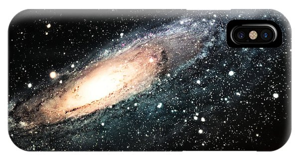 Space iPhone Case - The Spiral Galaxy by Njaj