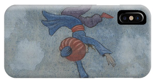 IPhone Case featuring the drawing The Story Of The Magician And The Wonderful Bird by Ivar Arosenius