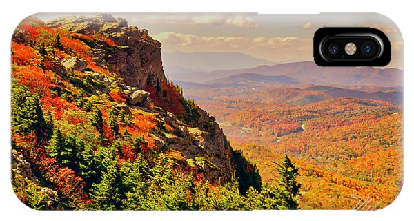 The Summit In Fall IPhone Case