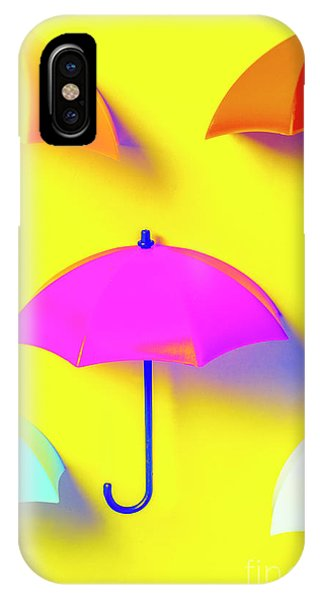 Parasol iPhone Case - The Sun Shower Scene by Jorgo Photography - Wall Art Gallery