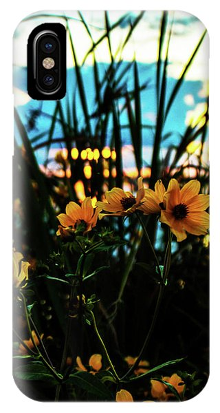 The Sunflower's Sunset IPhone Case