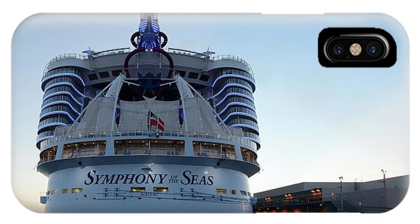 IPhone Case featuring the photograph The Symphony Of The Seas At Dawn by Bradford Martin