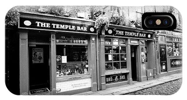 the temple bar pub Dublin Republic of Ireland Europe Phone Case by Joe Fox