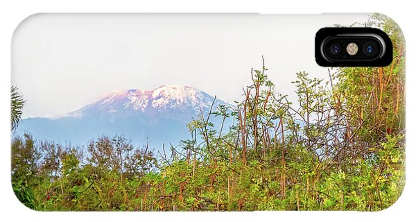 IPhone Case featuring the photograph The Venerable Mt Kilimanjaro by Kay Brewer