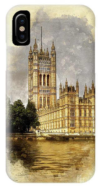 Palace iPhone Case - The Victoria Tower, London by John Edwards