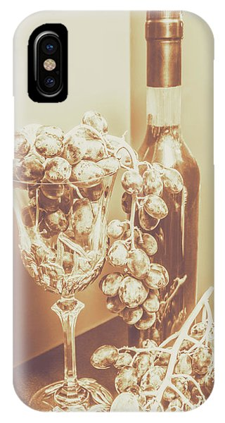 Vino iPhone Case - The Vine Cellar by Jorgo Photography - Wall Art Gallery