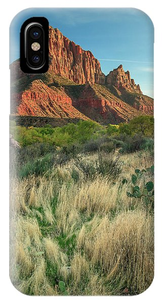 IPhone Case featuring the photograph The Watchman by Adam Romanowicz