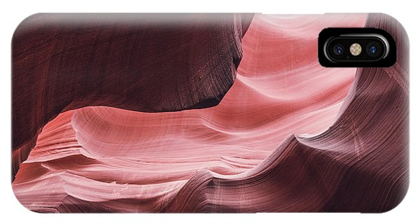 The Wave, Lower Antelope Canyon, Page, Az  IPhone Case
