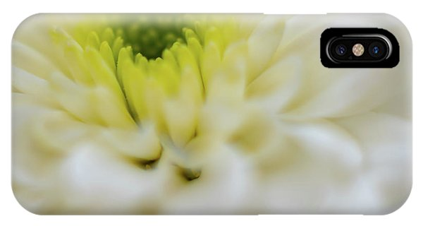 IPhone Case featuring the photograph The White Flower by Francisco Gomez