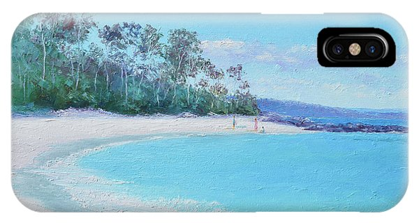 Jervis iPhone Case - The White Sands Of Hyams Beach by Jan Matson