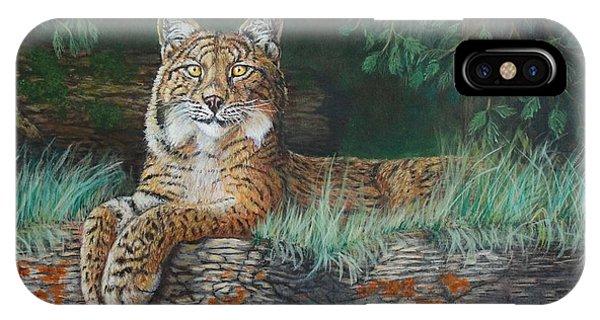 The Wild Cat  IPhone Case