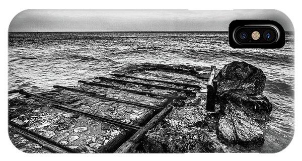 The Winter Sea #6 IPhone Case
