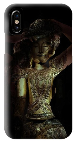 IPhone Case featuring the photograph The Woman Beneath by Marianna Mills