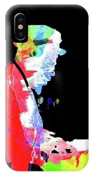 Print iPhone Case - Thelonious Watercolor II by Naxart Studio