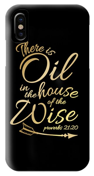 8e58ccbc Jesus Quotes iPhone Case - There Is Oil Funny Religious Bible Essential  Oils Tshirt by Noirty