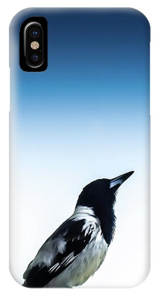 No People iPhone Case - Things Are Looking Up by Az Jackson