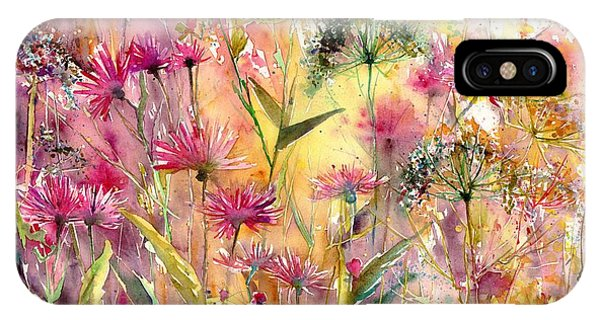 Alabama iPhone Case - Thistles Impression by Suzann Sines