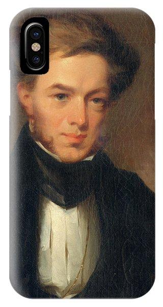 Portrait Of Thomas Ustick Walter, 1835 IPhone Case