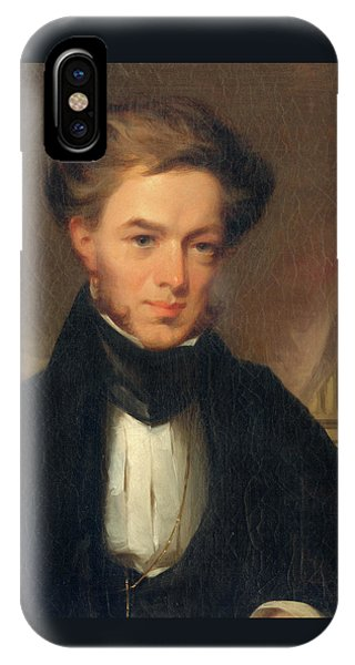 Portrait Of Thomas Ustick Walter, 1835 IPhone Case