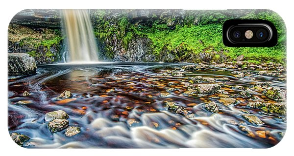 Thornton Force Waterfall Phone Case by David Ross