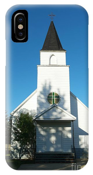 Middle Of Nowhere iPhone Case - Those Sunday Hyms by Jeff Swan