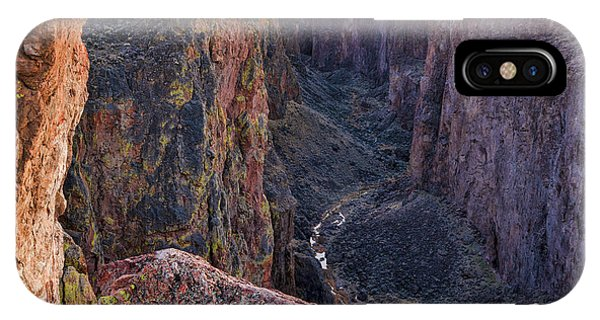 IPhone Case featuring the photograph Thousand Creek Gorge by Leland D Howard