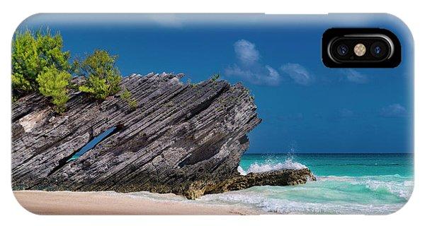 Carribbean iPhone Case - Thread The Needle Caribbean Beach by Betsy Knapp