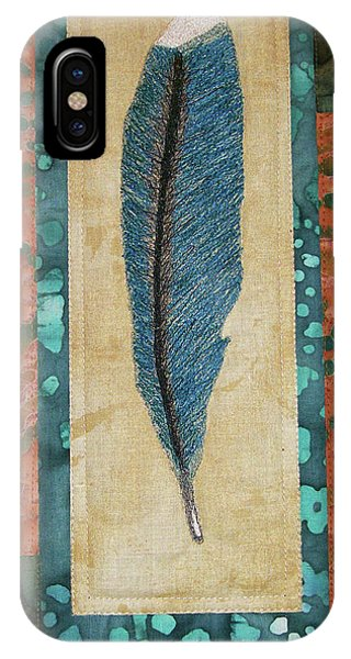 Threaded Feather IPhone Case