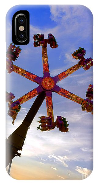 Funfair iPhone Case - Thrill Ride by Olivier Le Queinec
