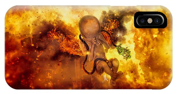 Change iPhone Case - Through Ashes Rise II by Mario Sanchez Nevado