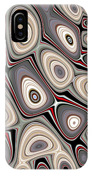 IPhone Case featuring the digital art Through The Looking-glass by Jeff Iverson