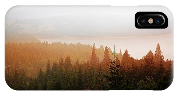IPhone Case featuring the photograph Through The Mist by Milena Ilieva