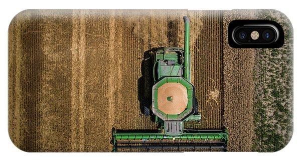 Through Wheat IPhone Case