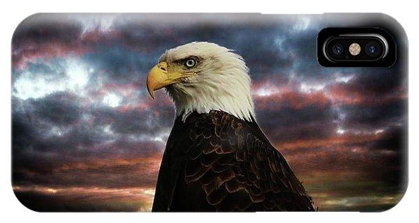 Thunder Eagle IPhone Case