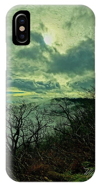 Thunder Mountain Clouds IPhone Case