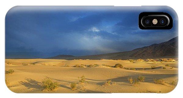 Thunder Over The Desert IPhone Case