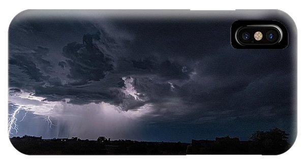 Thunderstorm #1 IPhone Case