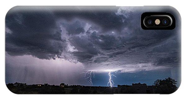 Thunderstorm #2 IPhone Case