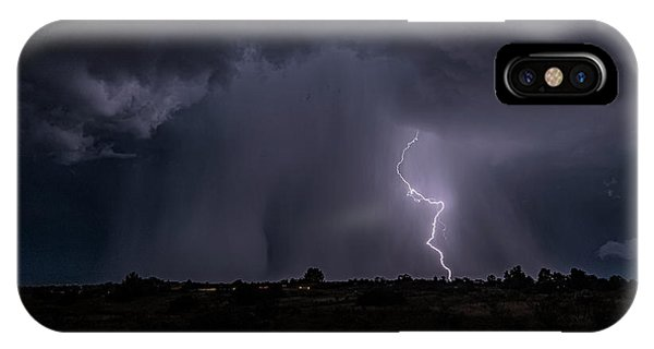 Thunderstorm #5 IPhone Case