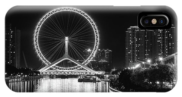 Tianjin Eye IPhone Case