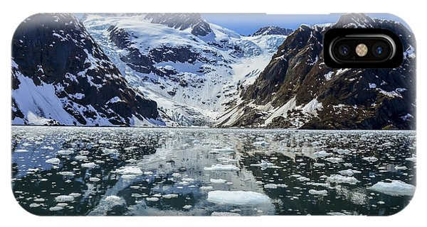 Homer iPhone Case - Tidewater Glacier In Kenai Fjords by Mike Redwine