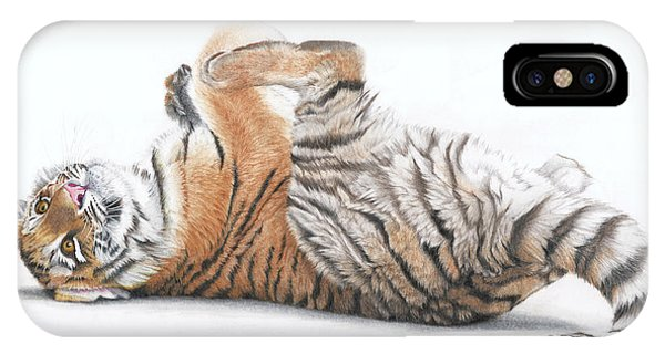 Tiger Feet IPhone Case