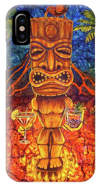 Tiki Cocktail Hour IPhone Case