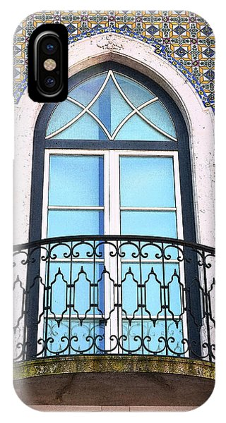iPhone Case - Tiled Balcony In Lisbon by Kathy Yates