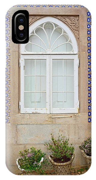 iPhone Case - Tiled Wall In Sintra Portugal by Kathy Yates