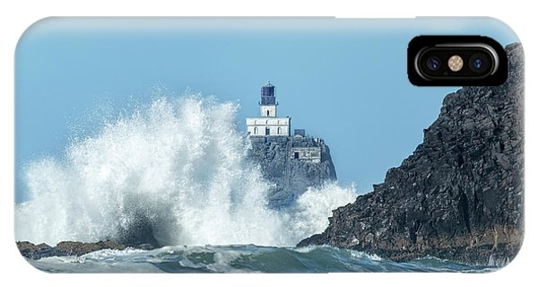 Tillamook Rock Light House, Oregon - Terrible Tilly IPhone Case