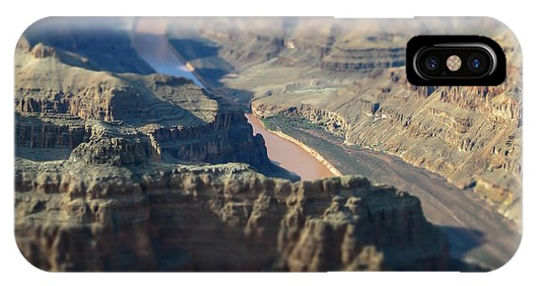 Tiltshifted Grand Canyon IPhone Case