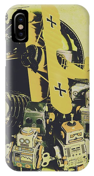 Timeworn iPhone Case - Tin Sign Toys by Jorgo Photography - Wall Art Gallery